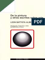 Alberti Leonne, De La Escultura