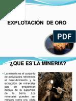 Explotacion de Oro