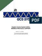GCS Modbus Protocol Support 4V8