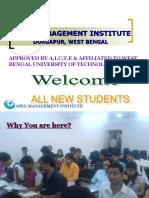 Presentation for Apex, Durgapur