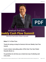 Rich Dad Cash Flow Summit 2019