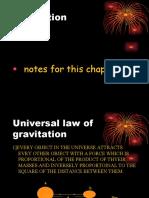 Gravitation class ix cbse board