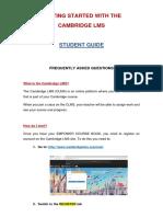 Gúia Para El Estudiante Sobre El Uso de La Plataforma Clms - Copia