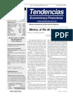 Tendencias Econónicas y Financieras  1519