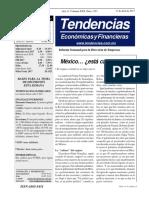 Tendencias Económicas y Financieras 1523