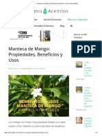 ▷ Manteca de Mango