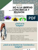 Derecho a La Libertad de Conciencia y Religión
