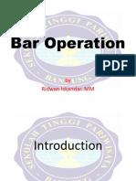 00. BAr Operation