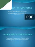 DIAPOSITIVAS - OBJETO DE LOS IMPUESTOS