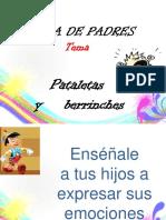 Escuela de Padres Pataletas y Berrinches
