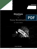 Overture in C Major - Fanny Mendelssohn