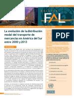 Convertido La Evolucion de La Distribucion Modal en America Latina