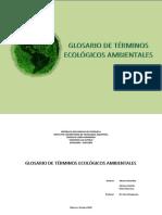 Glosario de Terminos Ecologia