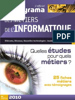 59055891 Studyrama Metiers De L Informatiquepdf