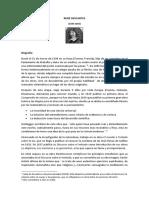 Resumen del ``Discurso del Método´´ (Descartes)