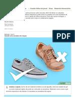 Secar calçados