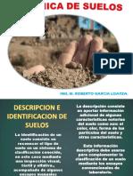 DESCRIPCIÓN E IDENTIFICACIÓN DE SUELOS