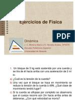 1.1. Dinamica Ejercicios