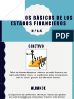 NIF a-5 Elementos Básicos de Los Estados Financieros