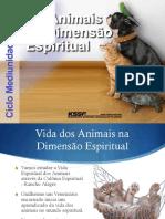A vida dos animais no mundo espiritual