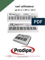 Manual Prodipe 61 C 49 C 25 C FRENCH 1