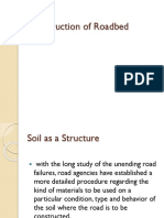Construction of Roadbed