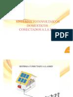 Sistemas fotovoltaicos conectados a red