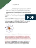 1.1 Estructura de Los Materiales