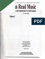 I Can Read Music. Violin