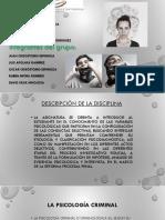 La Psicología Criminológica.23,Octubre (2)
