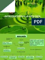 INTRODUCCION BIOLOGIA