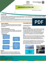 Poster Generador de Energia Avd