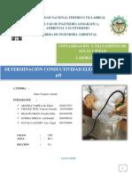 Informe 4- Conductividad y Ph