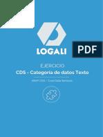 10_03_04 Ejercicio - CDS - Categoría de Datos Texto