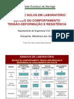 ENSAIOS SOLOS Tensão Deform Resist (1)