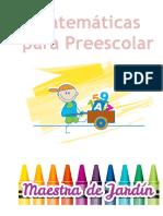 Libro Matematicas Preescolar.key