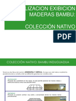 ACLARACION EXIBICION MADERAS BAMBU.ppt
