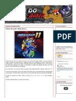 Crítica de Mega Man XI