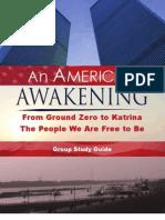 An American Awakening - Group Study Guide