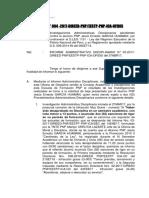 Informe Remitiendo Investigaciones Contra Garcia Huamani