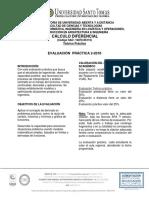 Práctica Cálculo Diferencial 2018 2