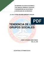 Tendencia de Los Grupos Sociales Jordy Ramos