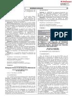 DS 008-2019-VIVIENDA - Modifica Ley 27157 - Ley de Regularización de Edificaciones (Pub 12-02-2019)
