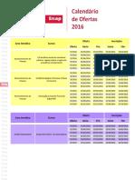 Enap - Calendario de Ofertas 2016