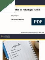 Fundamentos de Psicología Social_Sesión 3