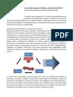 La Difícil Vinculación Universidad-empresa en México