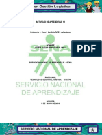 Evidencia 1 Fase I, Análisis DOFA Del Entorno