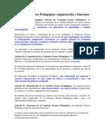 Comisión técnica pedagogica