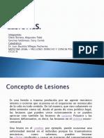 Medicina Legal Lesiones