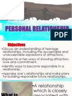 Personal Relationships 1